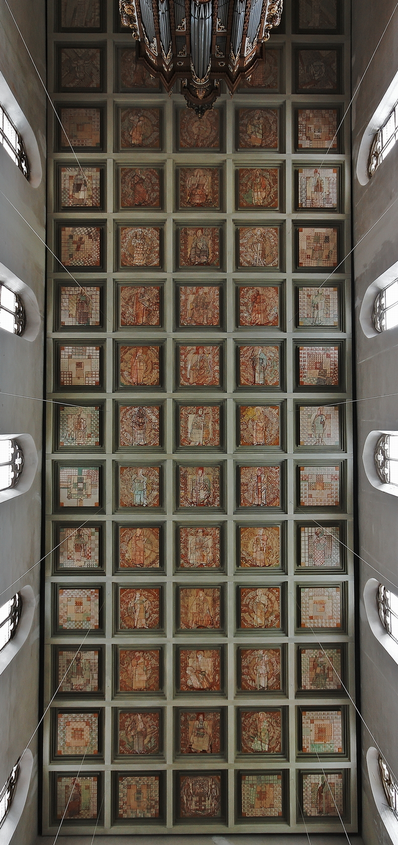 St. Pantaleon, Cologne: Ceiling