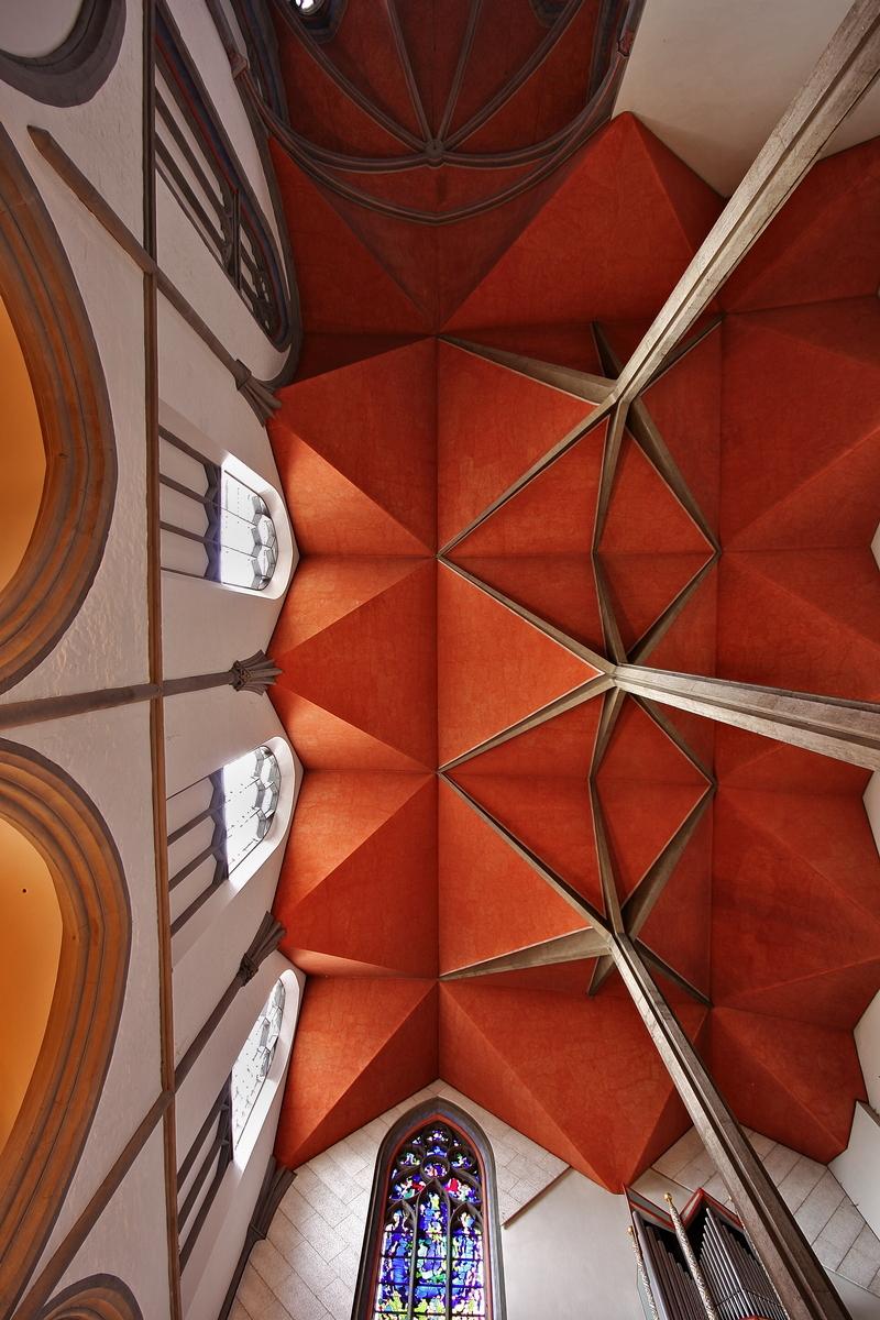St. Foillan, Aachen: Ceiling