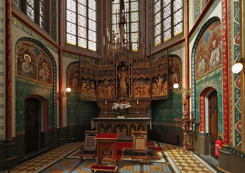 St Jozef Altar, De Krijtberg, Amsterdam