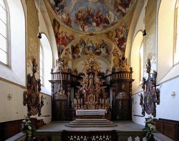 St. Getreu, Bamberg: High Altar