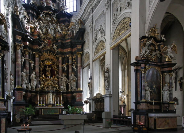 Obere Pfarre, Bamberg: High Altar