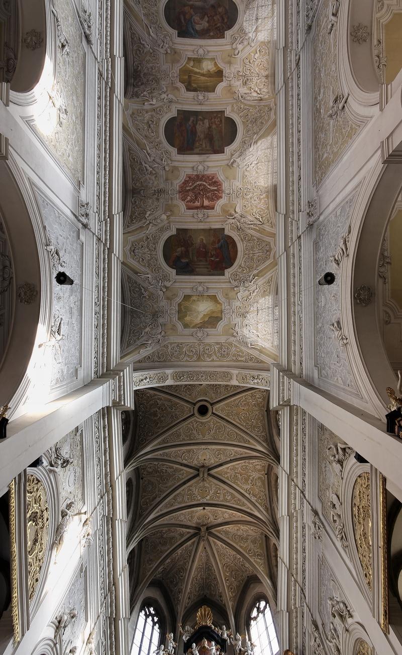 Obere Pfarre, Bamberg: Ceiling (1)