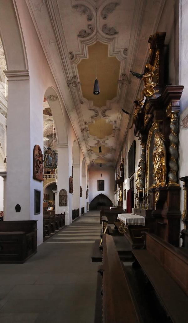 Obere Pfarre, Bamberg: Aisle
