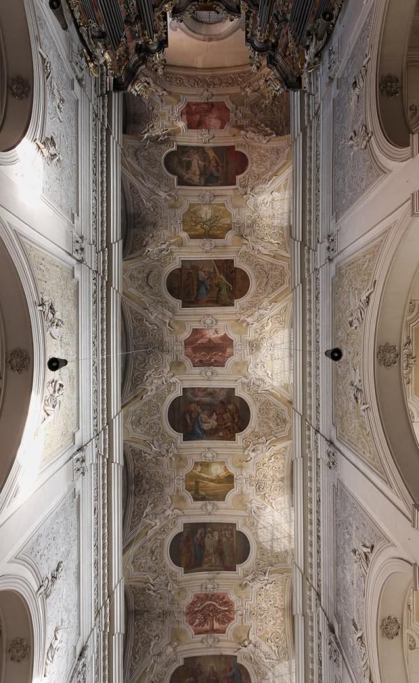 Obere Pfarre, Bamberg: Ceiling (2)
