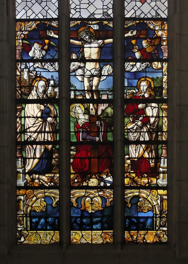 Crucifixion window, Antoniterkirche, Cologne