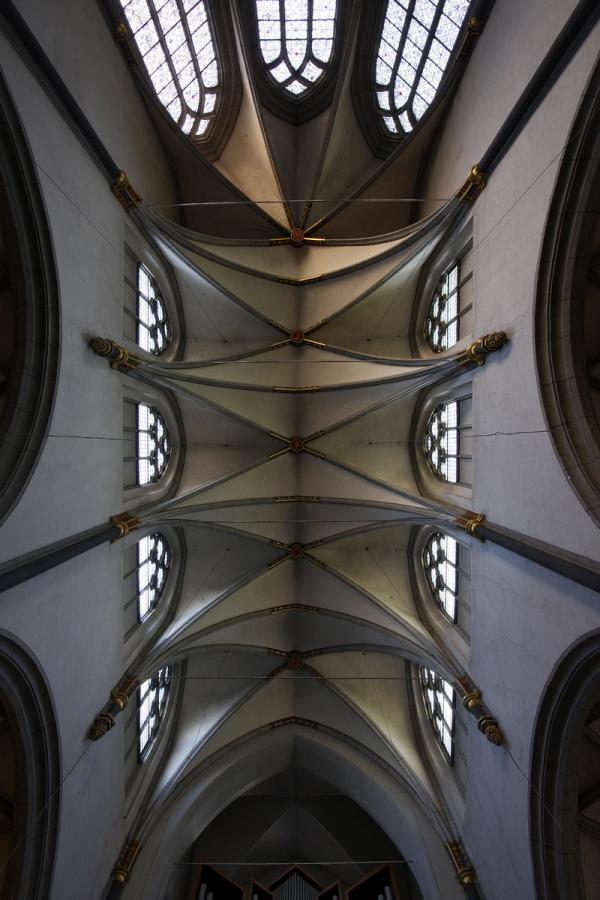 Antoniterkirche, Cologne: Ceiling