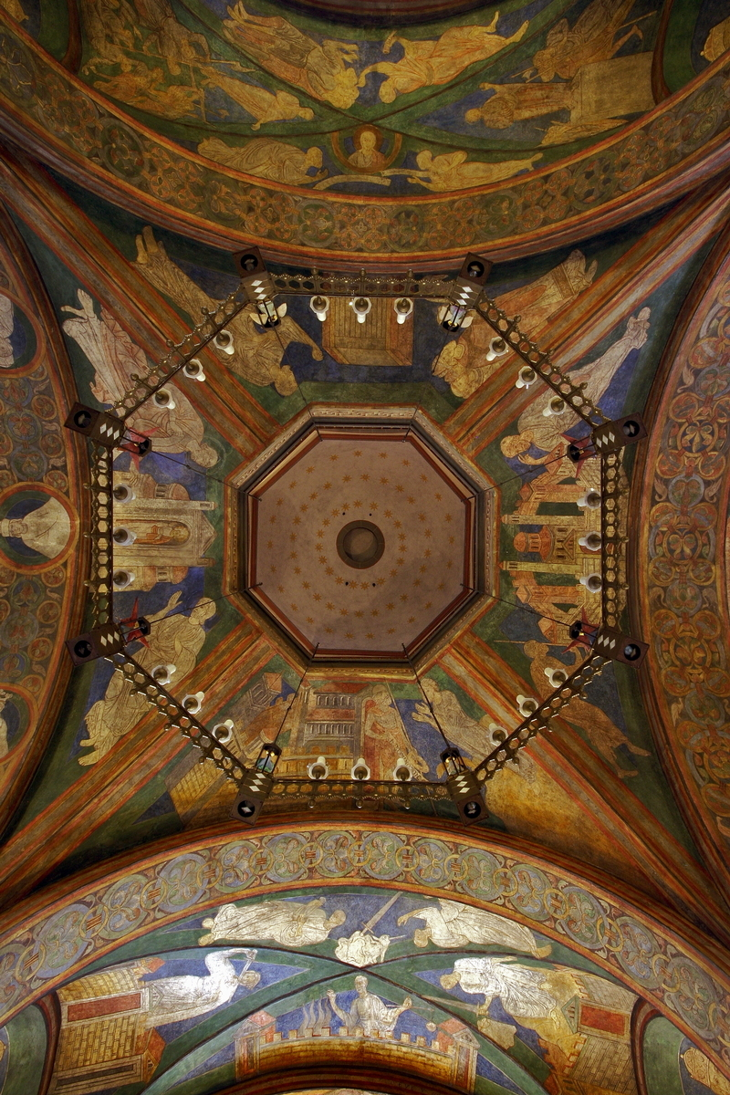 St. Maria and St. Clemens, Bonn: Ceiling