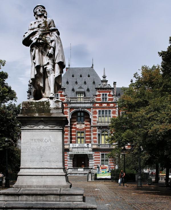 Place Anneessens, Brussels