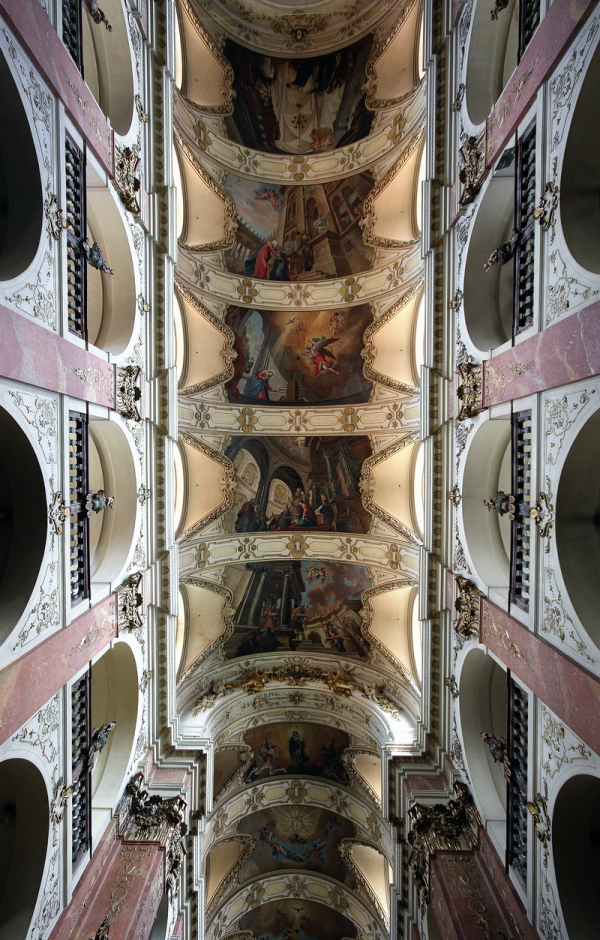 St Jacob, Prague: Ceiling