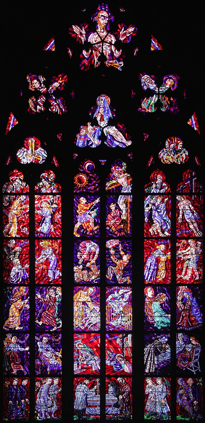 St Vitus, Prague: Window