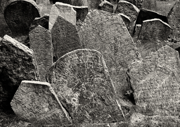 Old Jewish Cemetery, Prague (II)