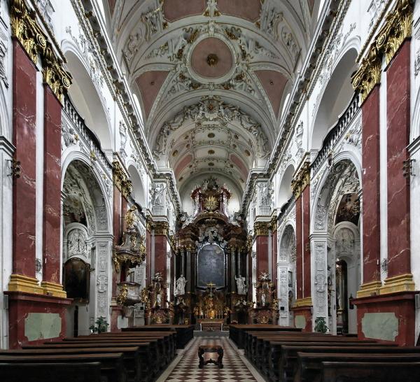 St Ignatius, Prague