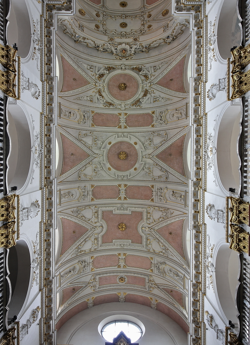 St Ignatius, Prague: Ceiling