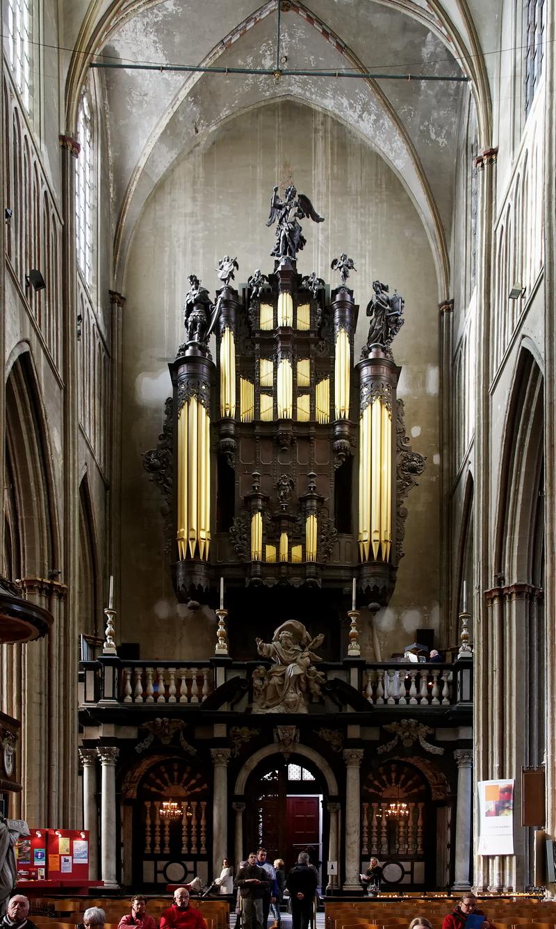 St Salvator, Bruges: Organ