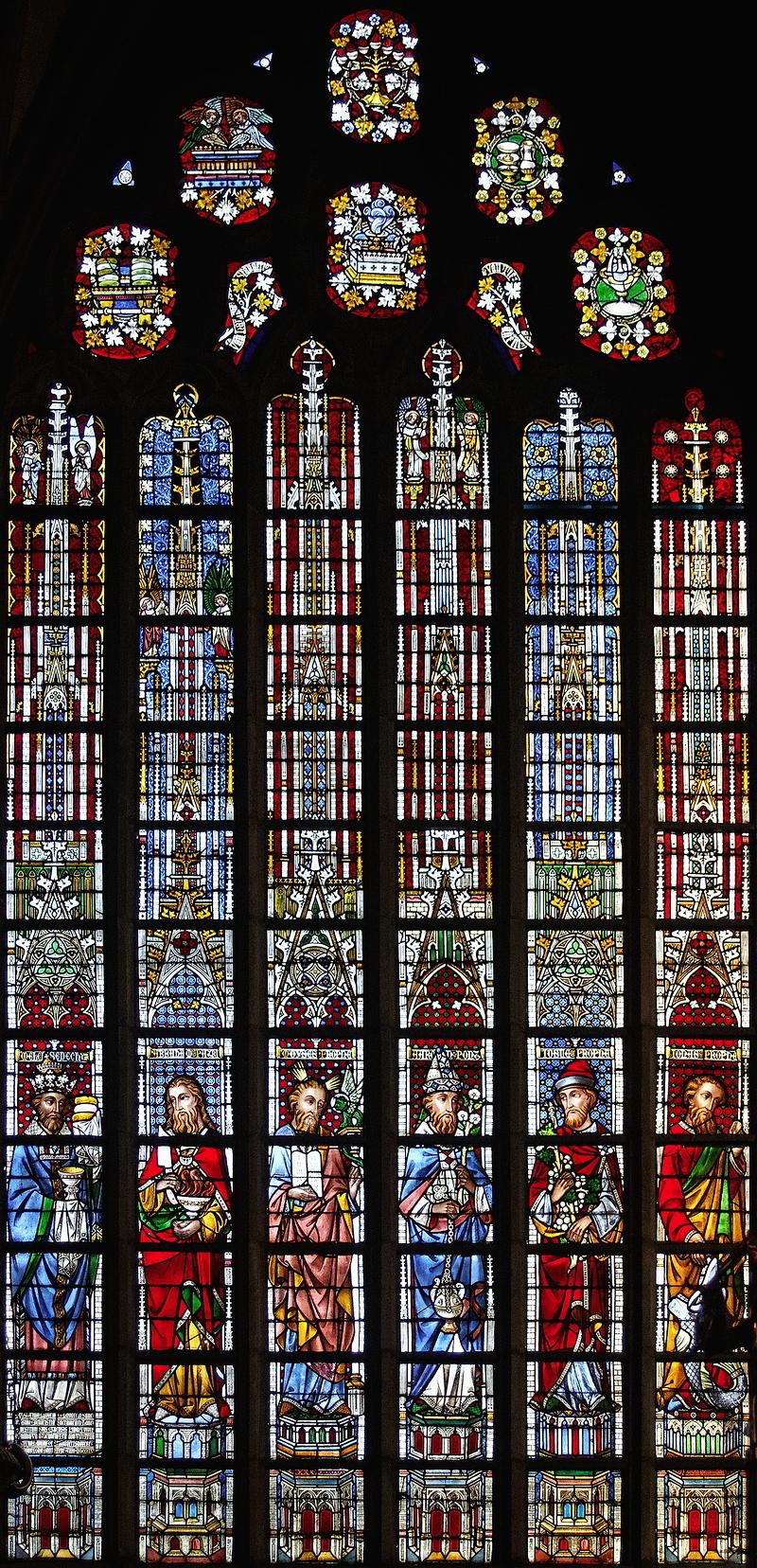 St Salvator, Bruges: The Prophets