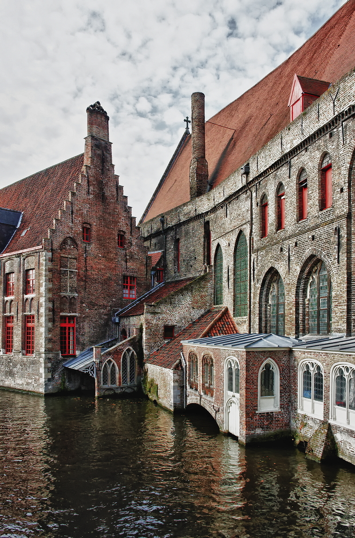 Famous views of Bruges