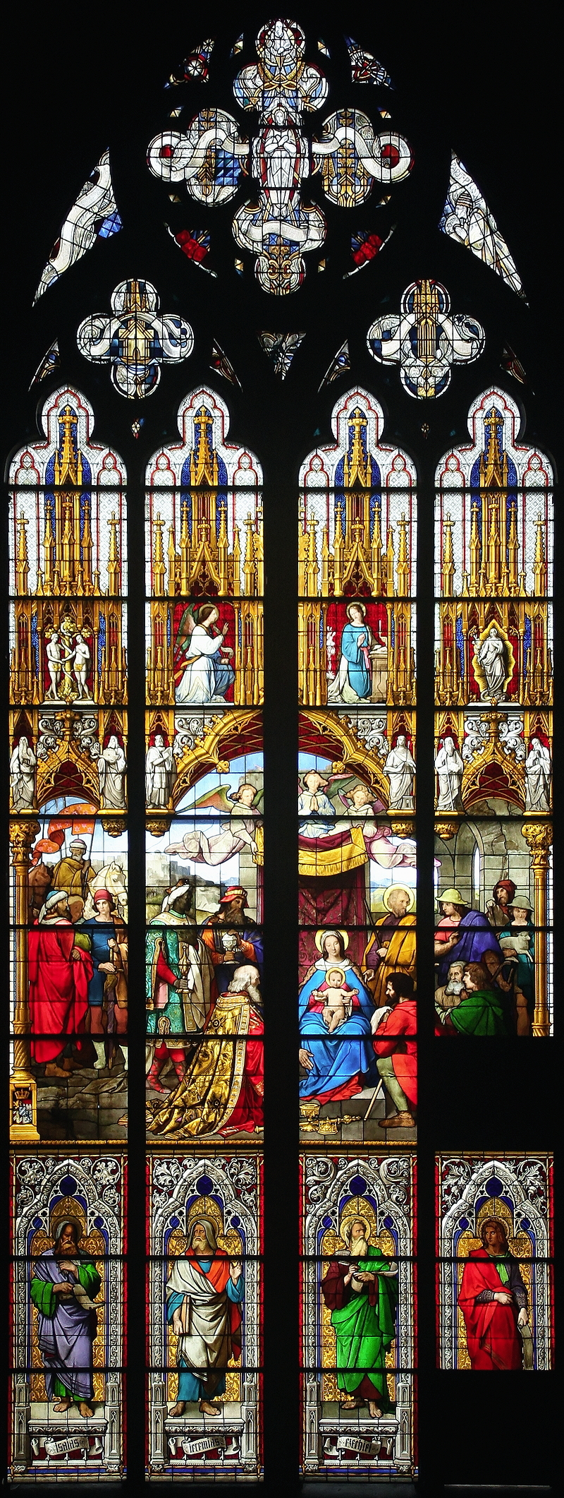 Adoration Window, Cologne Cathedral