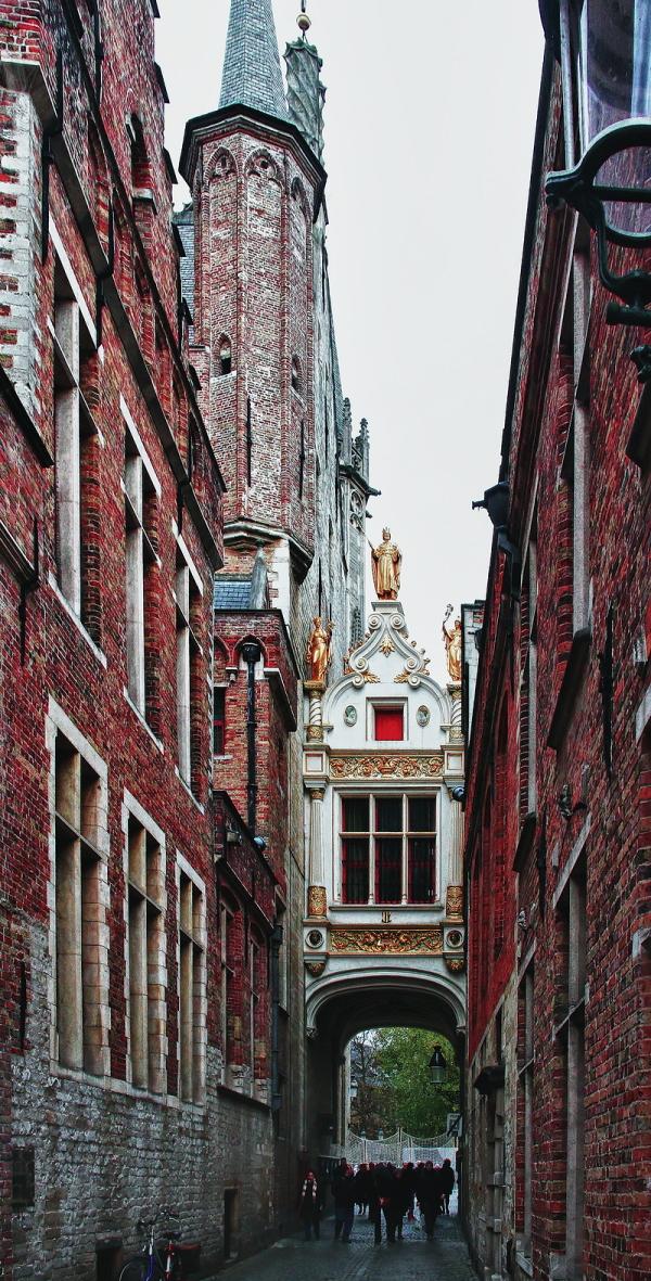 Blinde Ezelstraat, Bruges