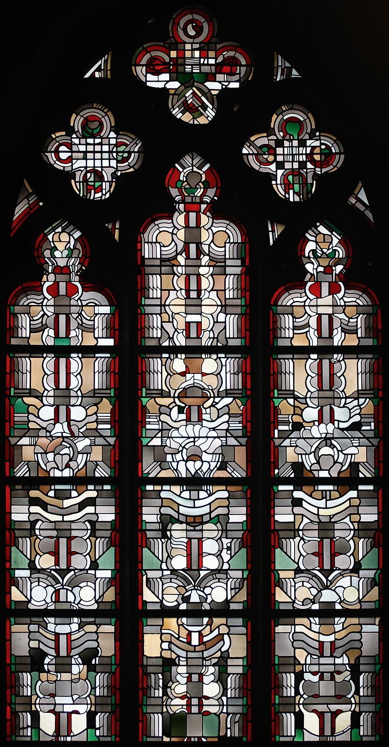 St Gertrudis, Düsseldorf: Window