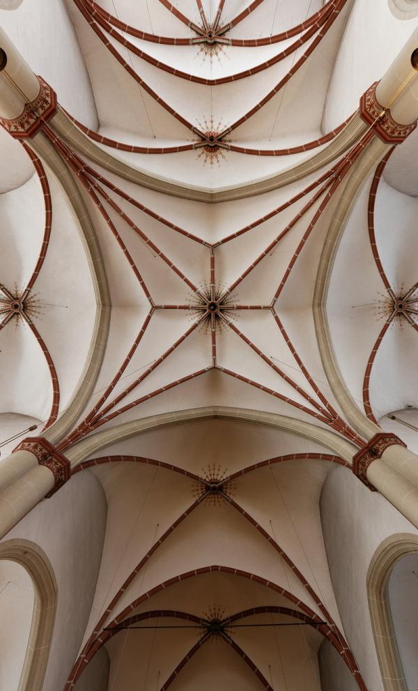 St Gertrudis, Düsseldorf: Ceiling