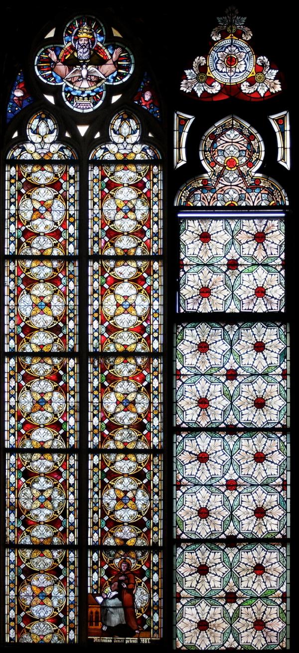St Marien: Two Windows