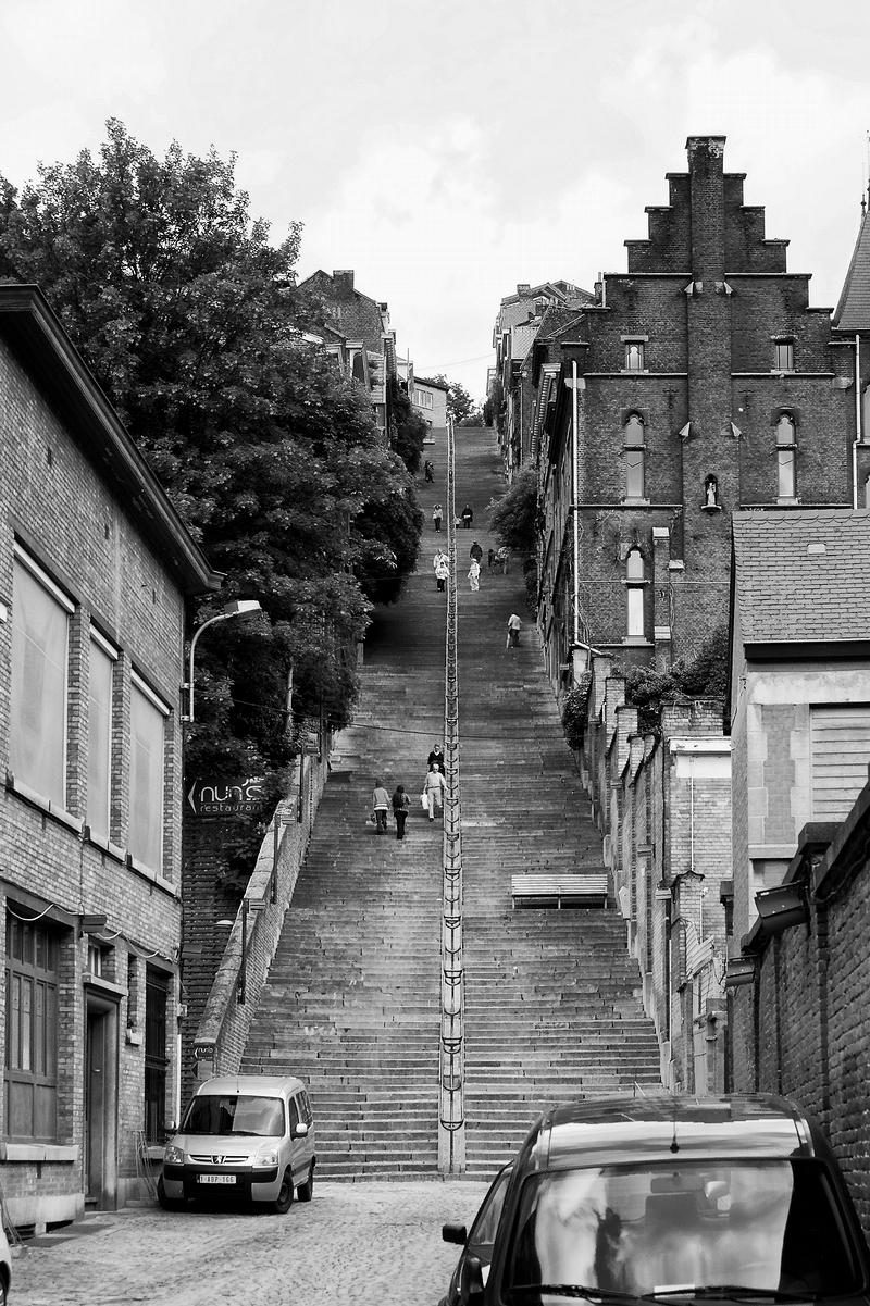 Montagne de Bueren, Liège