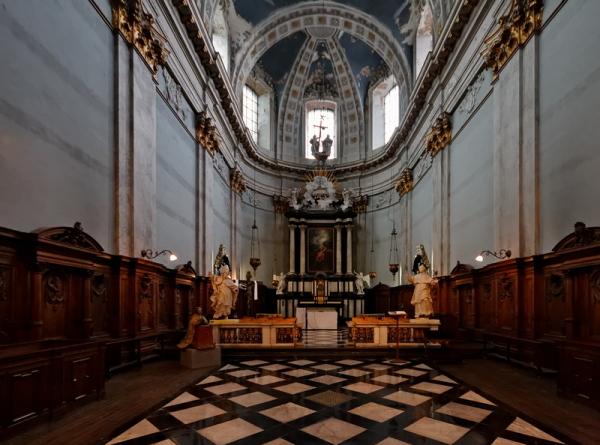 St Jean, Liège: Choir
