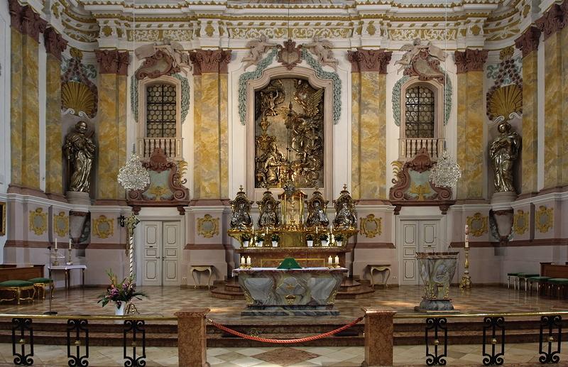 Bürgersaalkirche: Altar