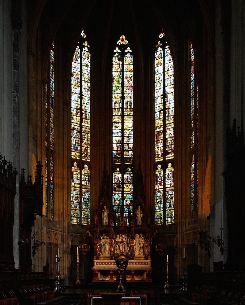 St Paul, Liège: Choir (Detail)