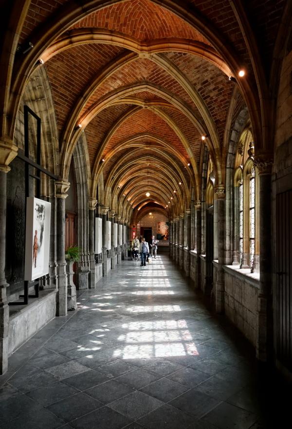 St Paul, Liège: Cloister