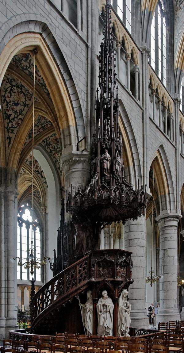 St Paul, Liège: Pulpit