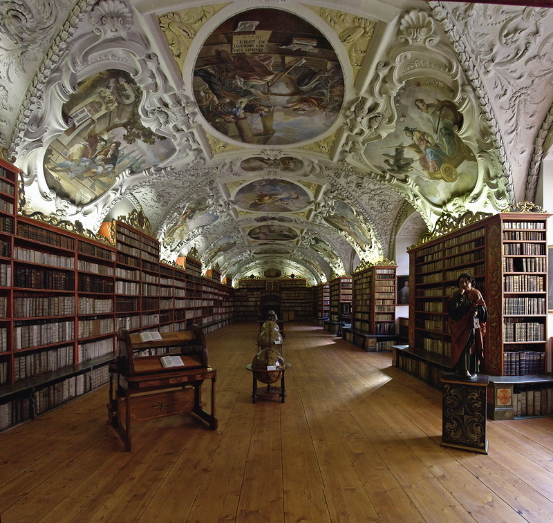 Strahov Monastery: Theological Hall