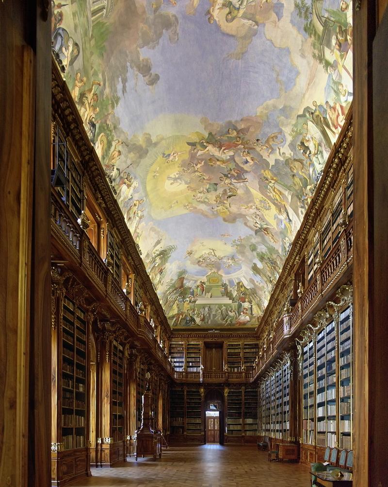 Strahov Monastery: Philosophical Hall