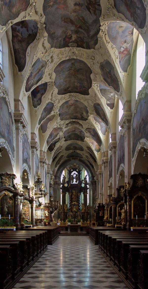 Strahov Monastery: Basilica