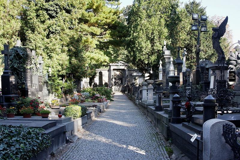 Vyšehrad: Cemetery