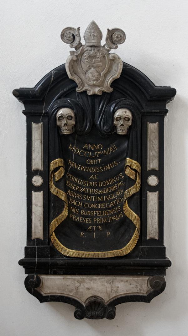 St Vitus, Mönchengladbach: Epitaph