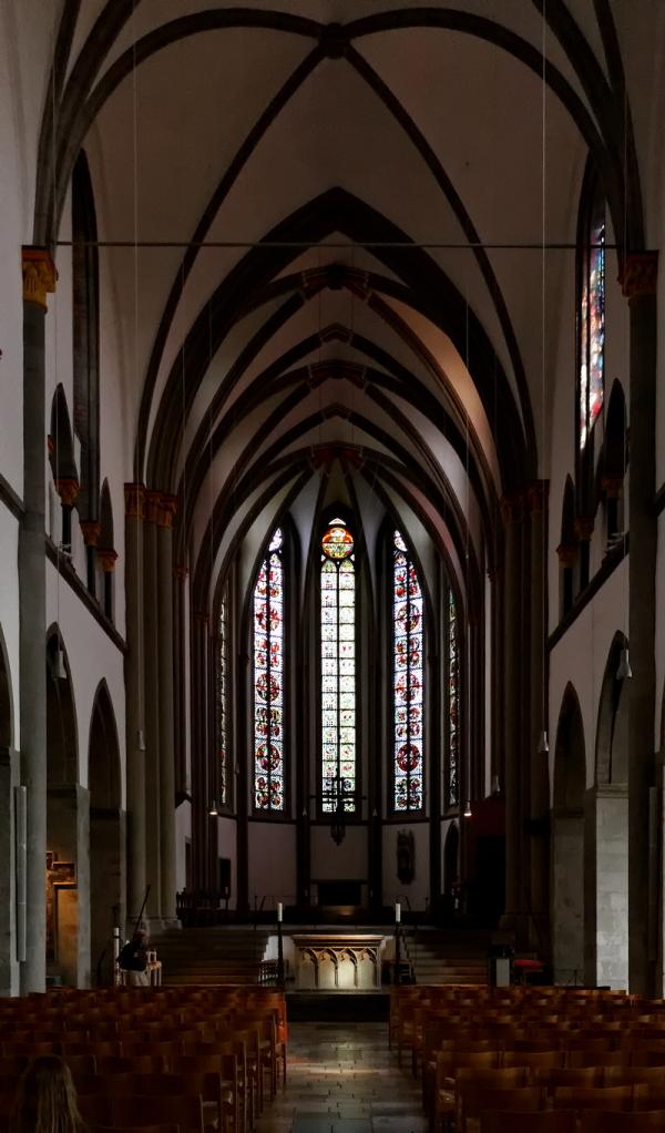 St Vitus, Mönchengladbach: Choir