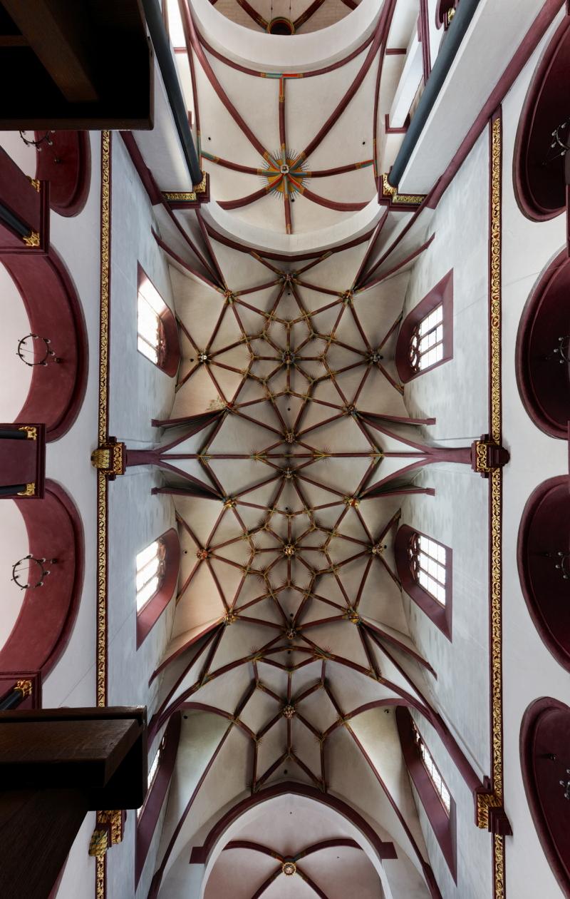 Liebfrauenkirche Koblenz, Ceiling