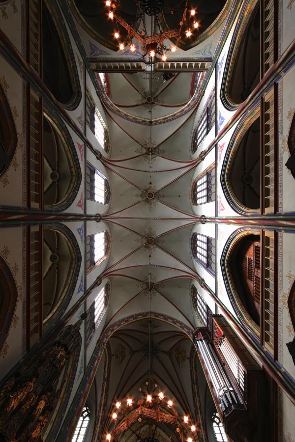 De Krijtberg, Amsterdam: Ceiling