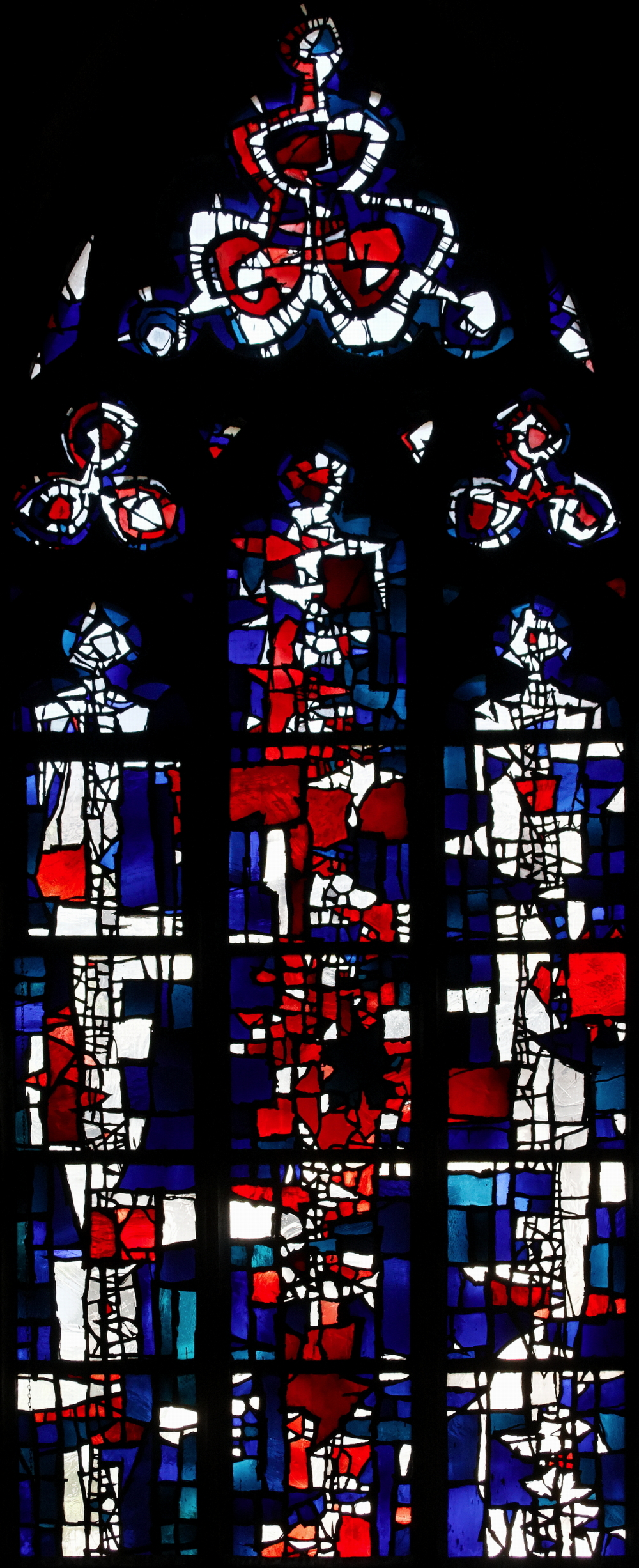 Choir windows of Citykirche, Mönchengladbach