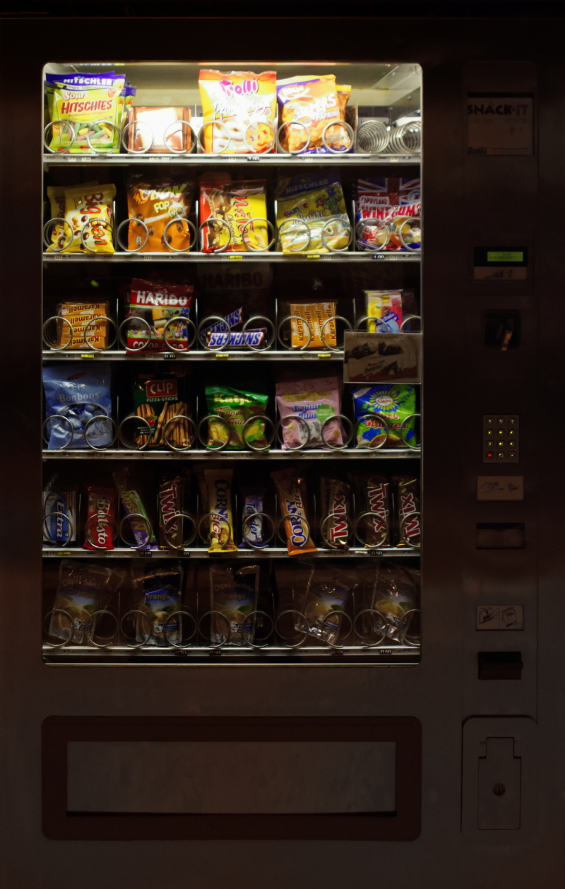 Vending Machine, Cologne Central Station