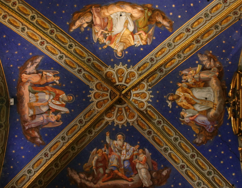Santa Maria sopra Minerva: Ceiling Detail