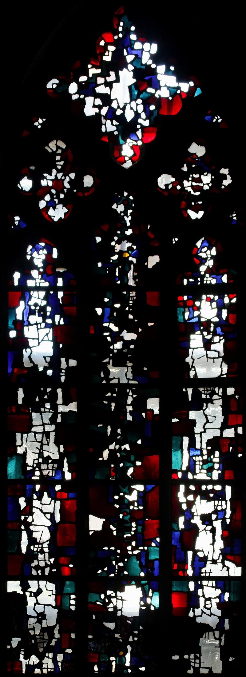 Citykirche, Mönchengladbach: Window