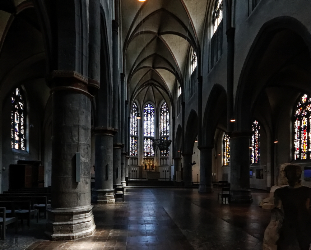 Citykirche, Mönchengladbach: Interior