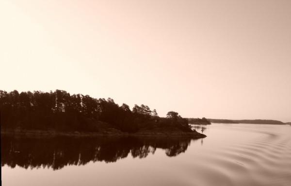 fjord sur la route de Stockholm 2