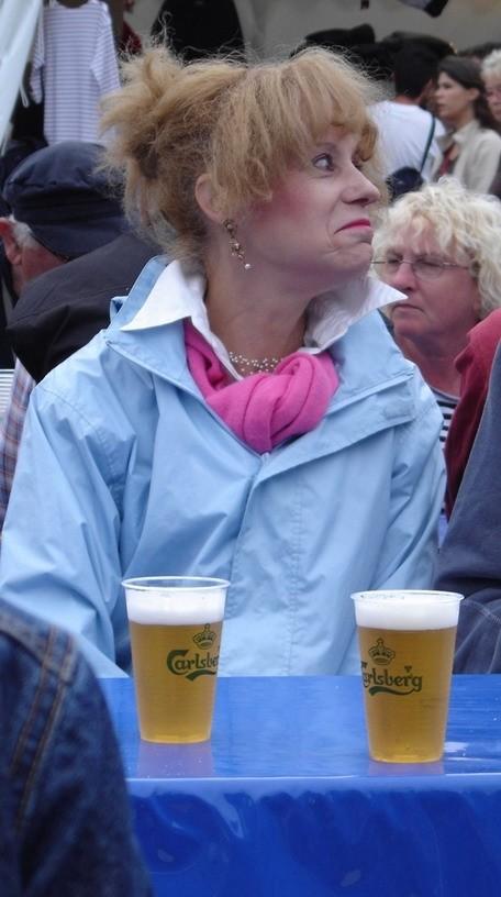 dame aux bières