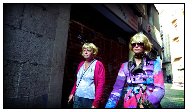 The Old Blonde Teens
