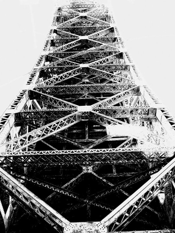 The Pulaski Skyway Eiffel Tower New Jersey