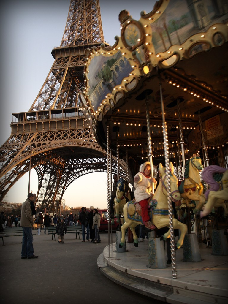 the nearest to tour eiffel carrousel