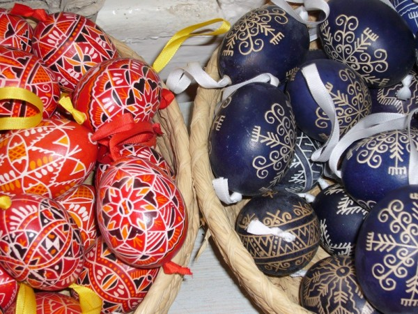Ous de decoració (foto de Praga)